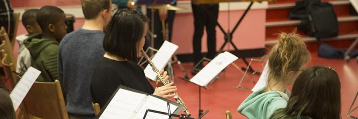 Kerstconcertjes leerorkest; kleine ensembles / of orkest