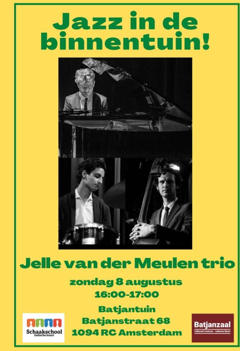 Jazz in de binnen tuin